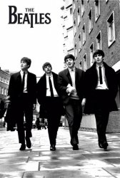 The Beatles (w Londynie) - plakat