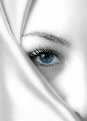 Fototapeta do salonu - Tajemniczy błękit - 183x254 cm