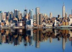 Fototapeta na ścianę - Miasto New York - 254x183 cm