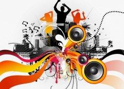 Fototapeta na ścianę - Taniec, muzyka, zabawa - 254x183 cm