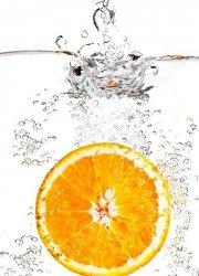 Fototapeta do kuchni - Pomarańcza - 183x254 cm