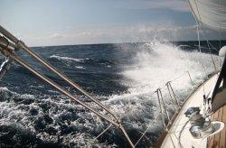 Fototapeta na ścianę - Na morzu - 175x115 cm