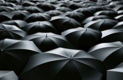 Fototapeta na ścianę  - Morze parasolek - 175x115 cm