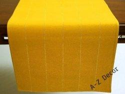 Bieżnik na stół - Żółty - 50x140cm