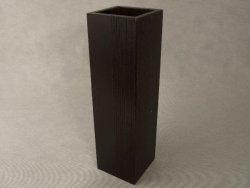 Wazon drewniany 10x10x35,5cm