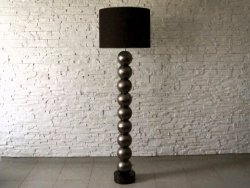 Lampa Podłogowa - Perla Ciemne złoto - IX - 50x170cm
