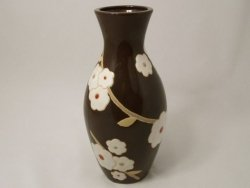 Wazon ceramiczny - Czekolada - 16x33cm