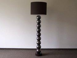 Lampa Podłogowa - Perla Brąz - IX - 50x170cm