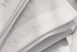 Ręcznik kąpielowy - Biały - 100% Bawełna - NAF NAF