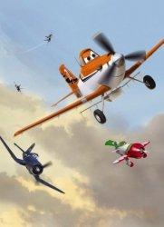 Fototapeta dla dzieci - Samoloty Zakurzony i Przyjaciele Disney - 184x254cm