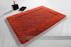 Dywanik łazienkowy - Pomarańczowy - 60x105cm