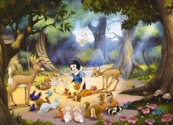 Fototapeta dla dzieci - Królewna Śnieżka Disney - 254x184cm