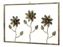 Ramka dekoracyjna - 3 Kwiatki