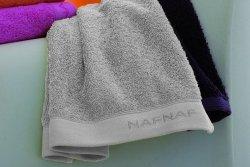 Ręcznik - Srebny - 100% Bawełna - NAF NAF