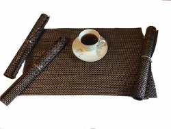 Podkładki na stół - Brązowe - Komplet 4szt