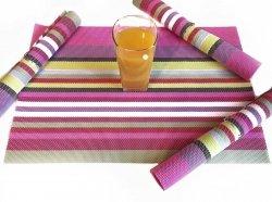 Podkładki na stół - Kolorowe - Komplet 4szt
