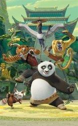 Fototapeta dla dzieci - Kung Fu Panda - 3D - 244x152cm