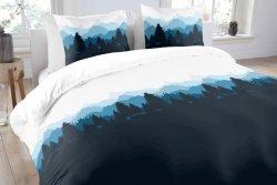 Pościel bawełniana -  ANEEZA Mountain - 160x200 cm