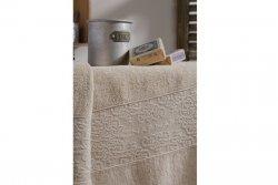 Ręcznik bawełniany - Beżowy -  NAF NAF - 50x100 cm