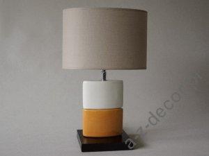 Lampka nocna - Pomarańczowa - CHANEA Petit - 25x15x43cm
