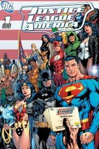 DC Comics Liga Sprawiedliwych okładka - plakat