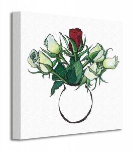 Obraz do salonu - Red Rose