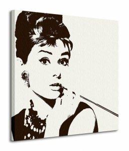 Obraz na ścianę - Audrey Hepburn (Cigarello)