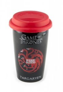 Gra o Tron Targaryen - Fire and Blood - kubek podróżny
