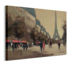 Time Out in Paris - Obraz na płótnie