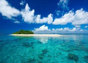 Fototapeta do salonu - Tropikalna wyspa - 254x183 cm