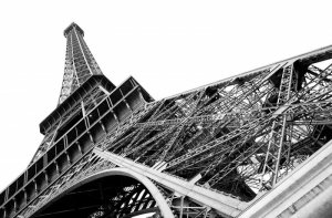 Fototapeta do salonu - Paryż, Wieża Eiffel - 175x115 cm