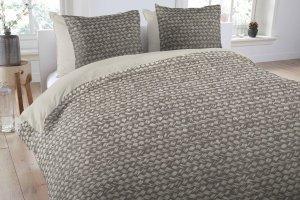 Pościel bawełniana - ANEEZA Gradient Grey - 200x220 cm