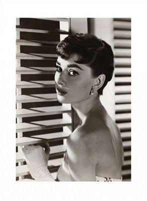 Audrey Hepburn (Żaluzje) - reprodukcja