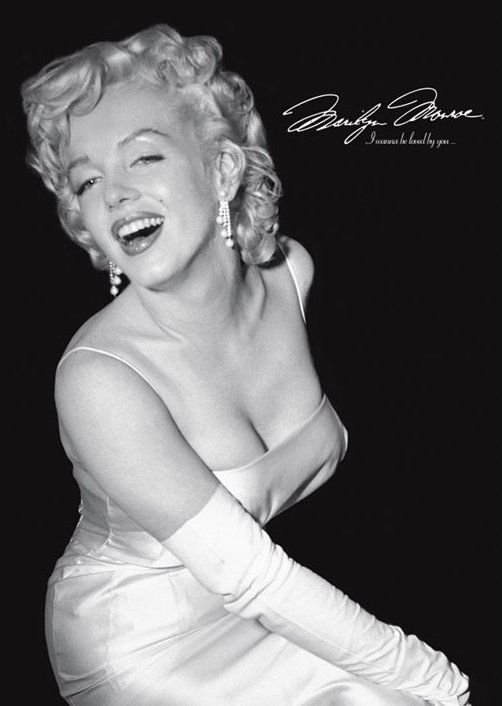 Marilyn Monroe (loved by you) - plakat
