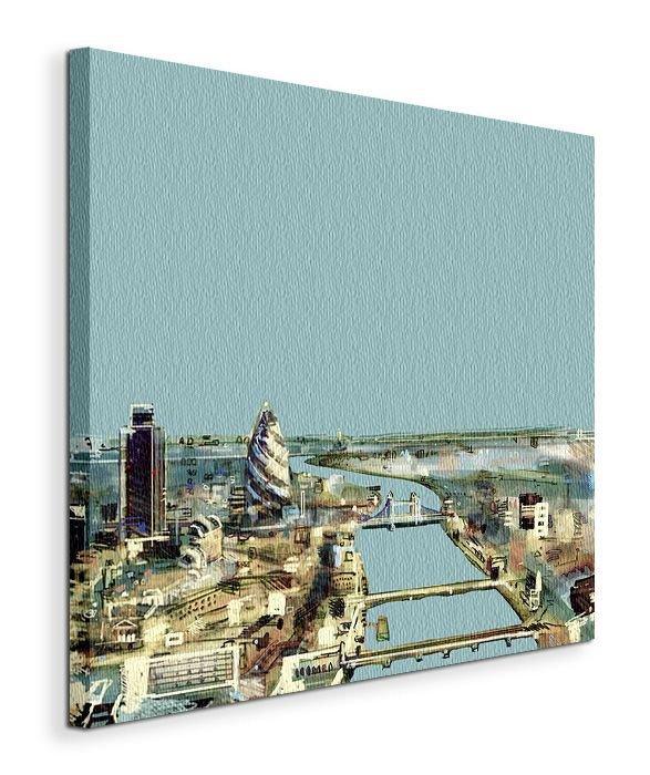 Thames - Obraz na płótnie