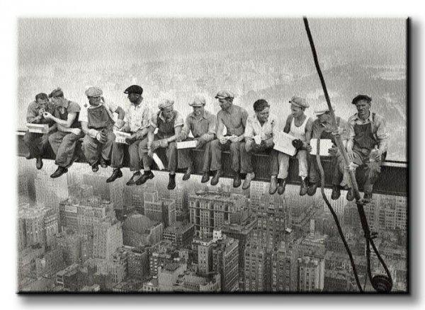 City Lunch - Obraz na płótnie