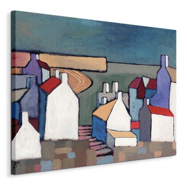 Seaside Town - Obraz na płótnie