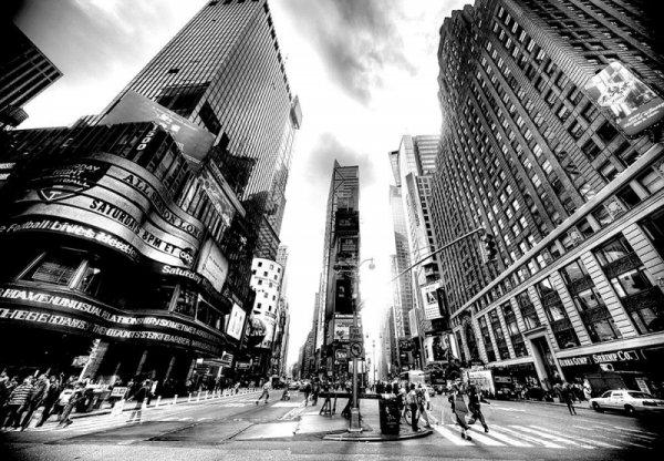 Fototapeta ścienna -  Times Square BW (New York) -  366x254 cm