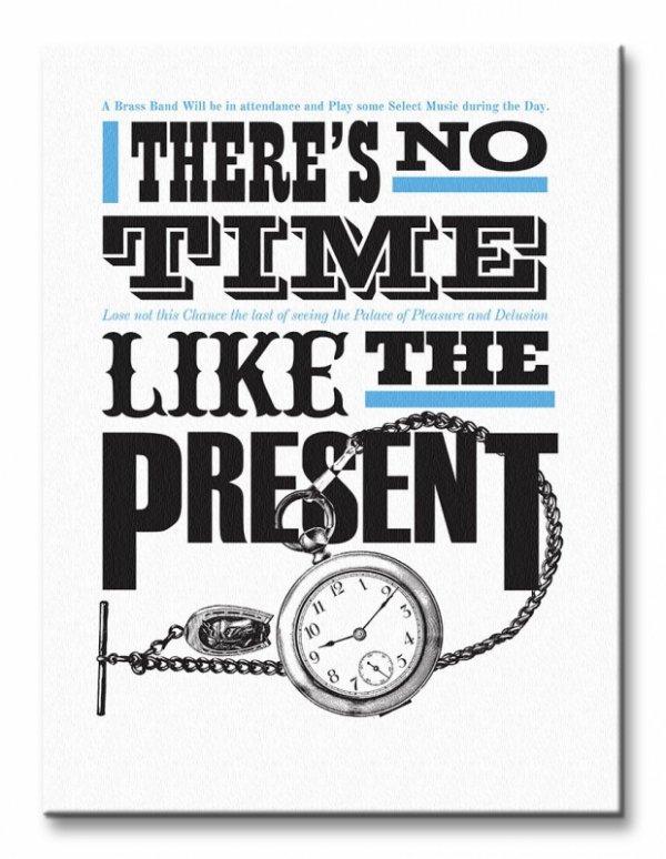 Asintended (No Time Like The Present) - Obraz na płótnie