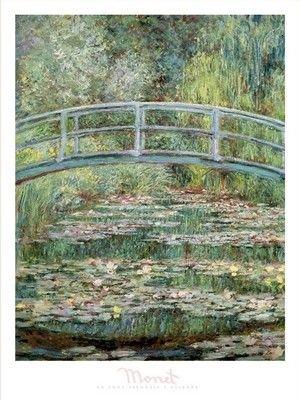 Le Pont Japonais a Giverny - reprodukcja