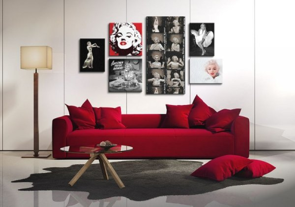 Obraz na płótnie - Marilyn Monroe (Seven Year Itch) - 30x40 cm