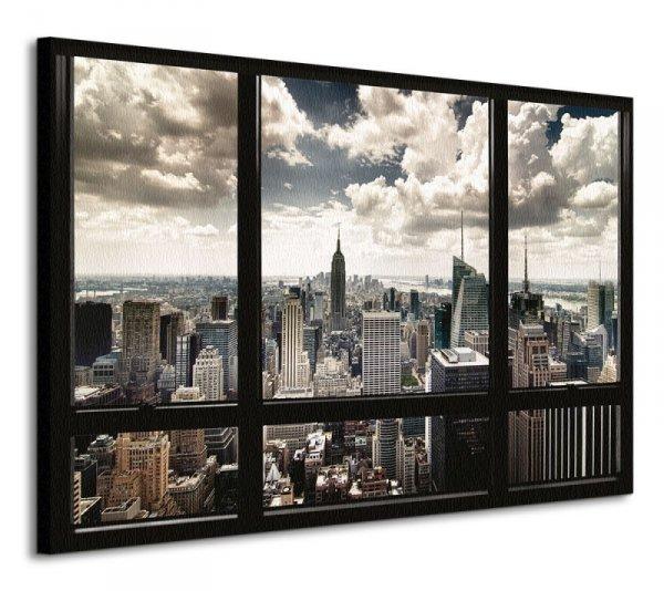Obraz do salonu - New York Window