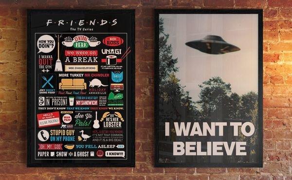 Archium X (I Want To Believe) - plakat