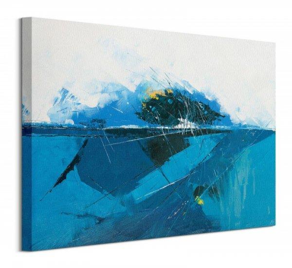 Blue Copse - Obraz na płótnie