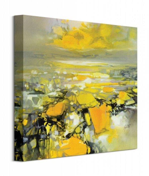 Obraz na ścianę - Yellow Matter 2 - 40x40 cm - Dekoracje ścienne - Sklep DecoArt24.pl