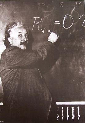 Albert Einstein (tablica) - reprodukcja