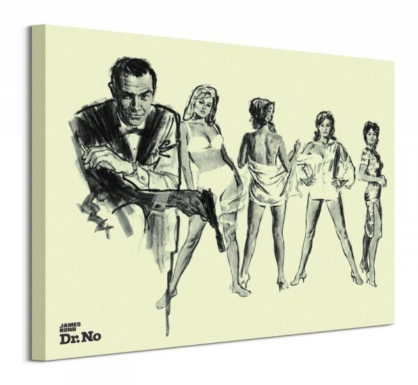 James Bond Doktor No - obraz na płótnie