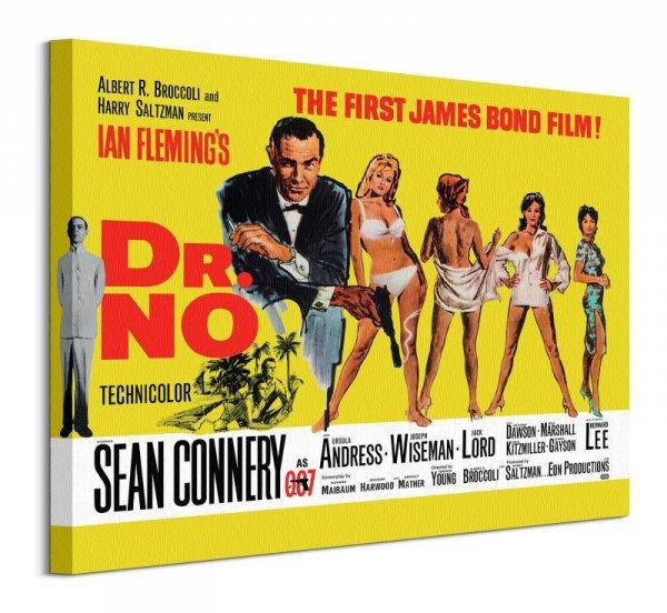 James Bond Dr. No - obraz na płótnie