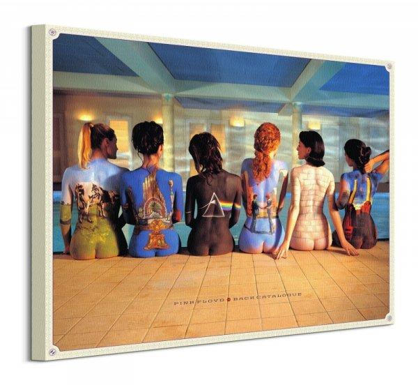 Pink Floyd Albumy - obraz na płótnie