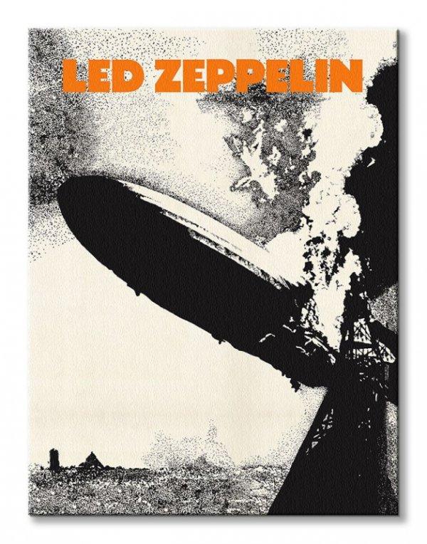 Led Zeppelin I - obraz na płótnie